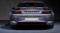 Porsche 911 Turbo S 2020 o 928? Il rendering posteriore