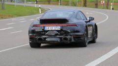 Porsche 911 Turbo S Dicktail: il posteriore