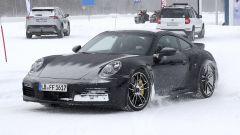Porsche 911 Turbo S Duck Tale: davanti resta sempre lei