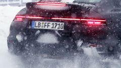 Porsche 911 Turbo S Duck Tale: firma luminosa posteriore inconfondibile