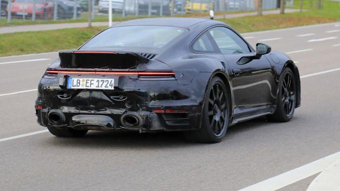 Porsche 911 Turbo S Ducktail