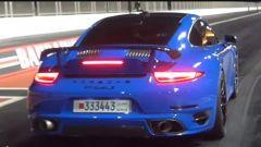 Porsche 911 Turbo S, il video YouTube dell'accelerazione record