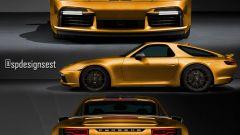 Porsche 911 Turbo S o 928? Il rendering di Spdesignsest