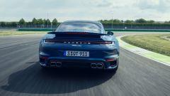 Porsche 911 Turbo, vista posteriore