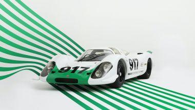 Porsche 917-001 verde e bianca