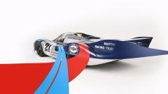 """Porsche 917 """"long tail"""" con livrea Martini Racing"""