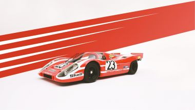 Porsche 917 rosso Salisburgo