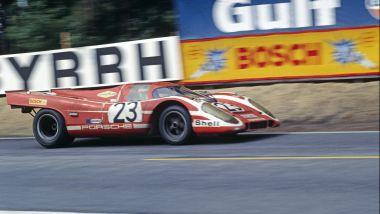 Porsche 917K alla Le Mans del 1970