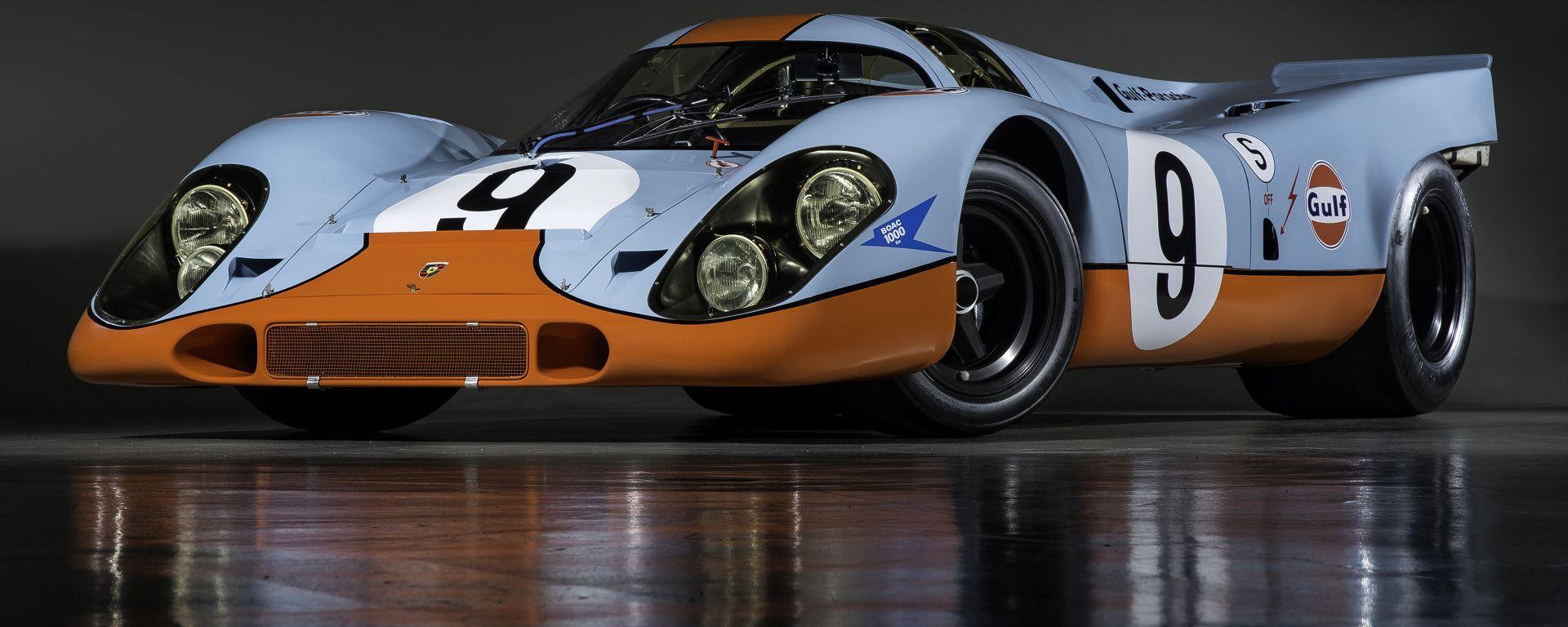 Porsche 917K: il 3/4 anteriore