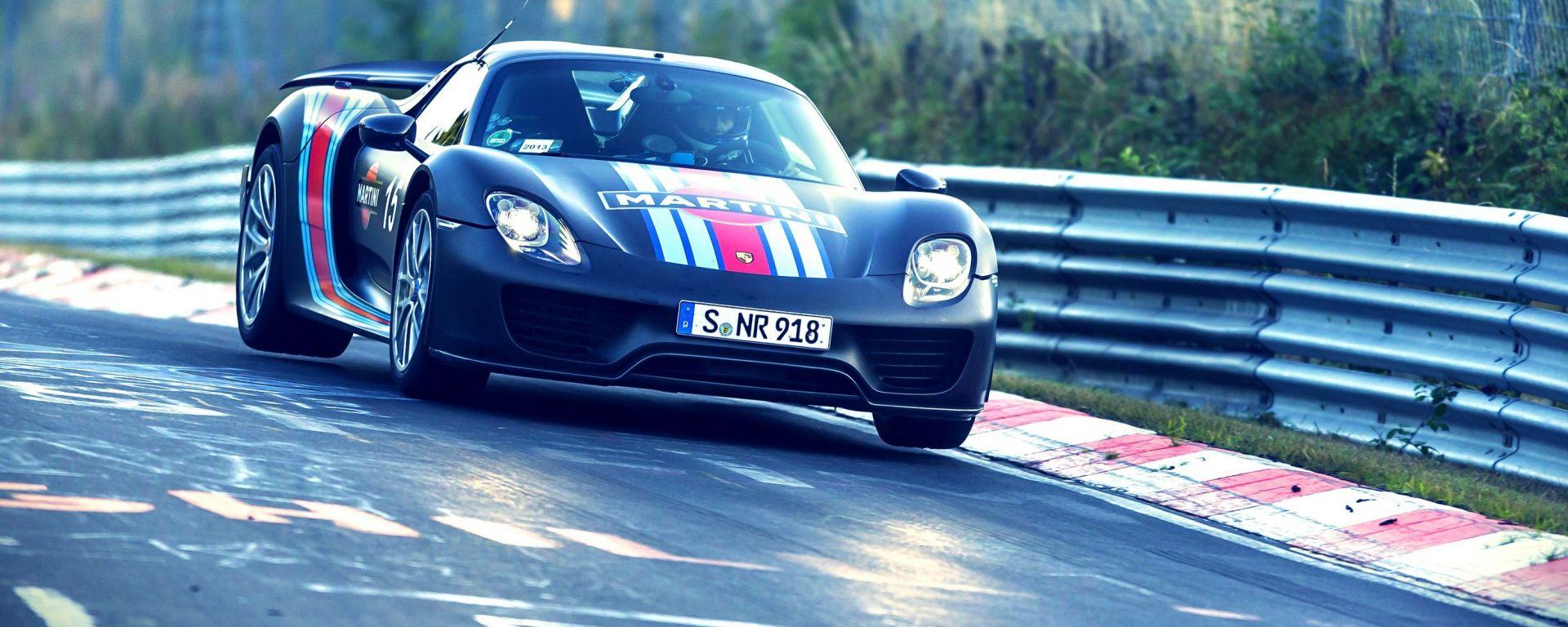 Porsche 918 Spyder: nuovo record al Ring