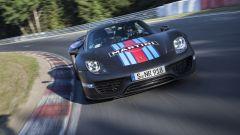 Porsche 918 Spyder: con il suo powertrain ibrido sviluppava 887 cavalli