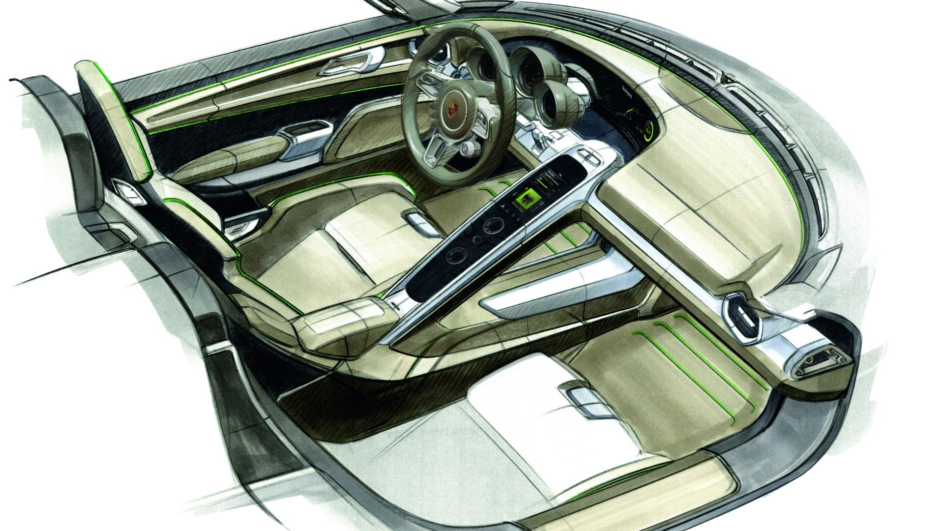 Prossimamente porsche 918 spyder il prezzo vero motorbox for Costo per costruire 3 box auto indipendenti
