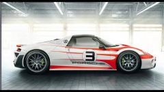 Porsche 918 Spyder: le prime immagini da una brochure? - Immagine: 6