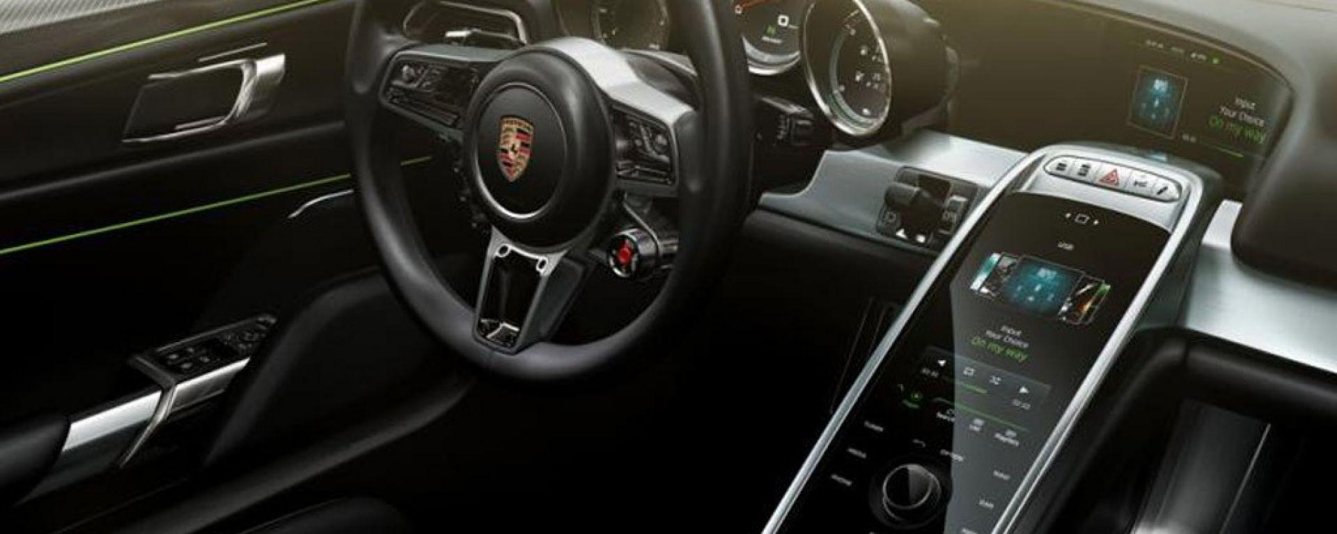 Porsche 918 Spyder: le prime immagini da una brochure?