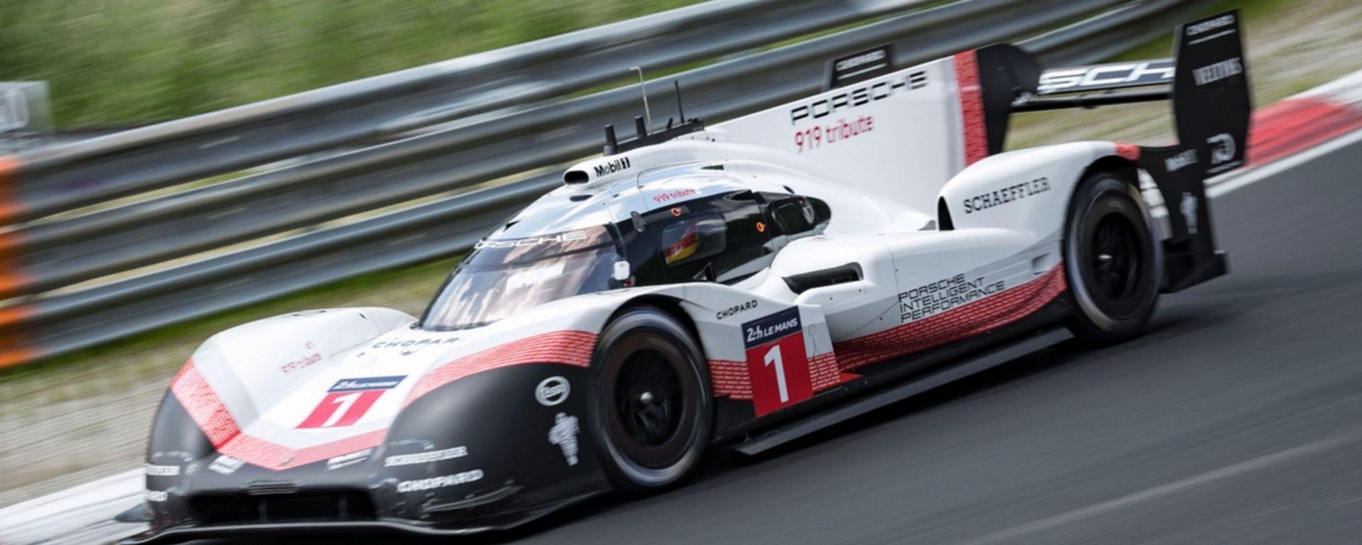 Porsche 919 Evo, è record! Il Nurburgring in 5 minuti