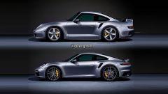 Porsche 959 e Porsche 911 Turbo 2020 si fondono