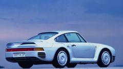 Porsche 959, la 3/4 posteriore è il suo lato più caratteristco