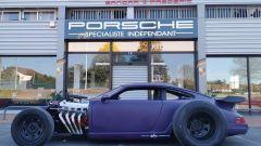 Porsche 964: anche per lei motore anteriore V8