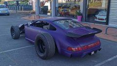 Porsche 964: il 3/4 posteriore