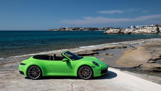 Porsche 911 cabrio prova