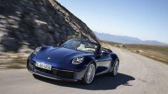 Porsche 992 Cabrio, la prova su strada