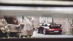 Porsche 993 GT2, il gigantesco alettone posteriore
