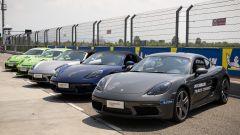 Porsche Boxster, Cayman S e GT3 RS per provare le nuove Michelin Pilot Sport Cup2 e Cup2 R