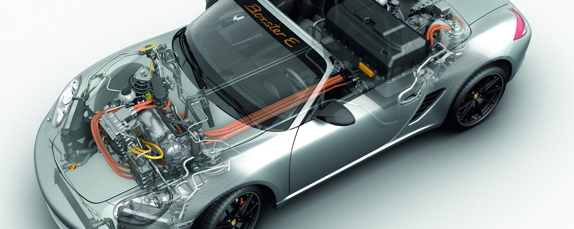 Porsche Boxster E e Boxster Es