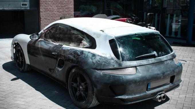 Porsche Boxster la versione SB