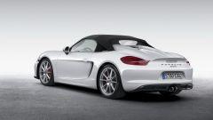 Porsche Boxster Spyder: la cover in tessuto