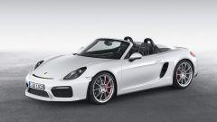 Porsche Boxster Spyder scoperta