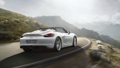 Porsche Boxster Spyder: vista 3/4 posteriore