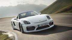 Porsche Boxster Spyder:  vista frontale