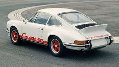 Porsche Carrera 2.7 RS, vista 3/4 posteriore