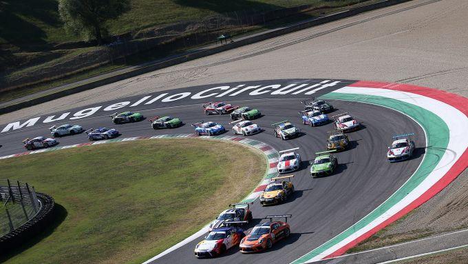 Porsche Carrera Cup Italia 2019, Mugello: la partenza della gara