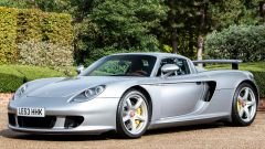 Porsche Carrera GT (2004): vista di 3/4 anteriore