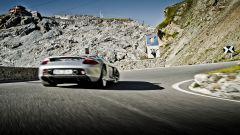 Porsche Carrera GT, il posteriore