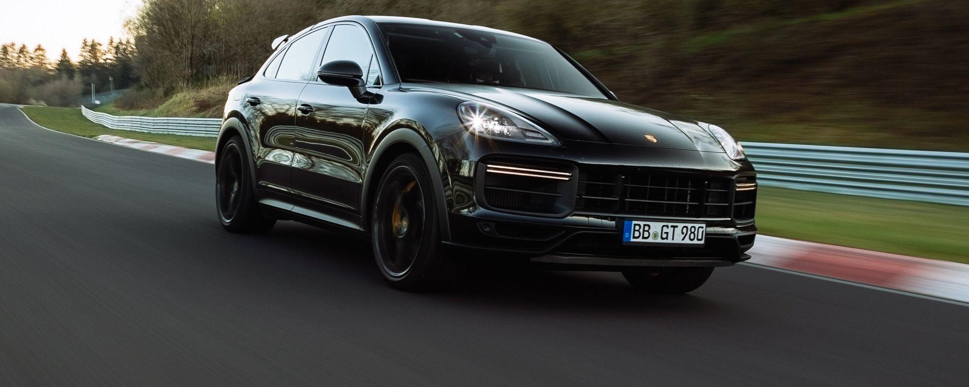 Porsche Cayenne ad alte prestazioni al 'Ring