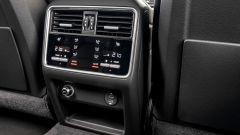 Porsche Cayenne Coupé, climatizzazione posteriore