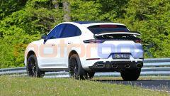 Porsche Cayenne Coupé GTS: l'auto sembra pronta per il debutto