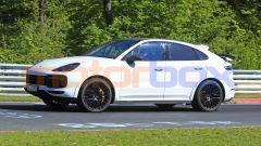 Porsche Cayenne Coupé GTS: nessuna camuffatura visibile