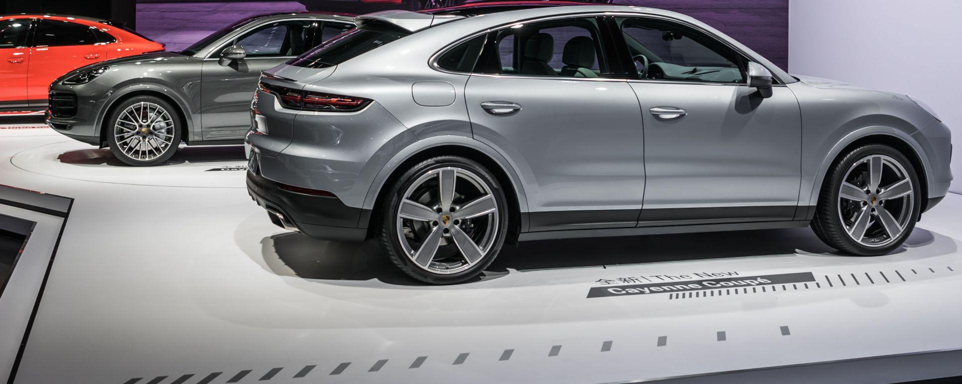 Porsche Cayenne Coupé, in anteprima a Shanghai 2019