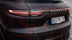Porsche Cayenne Nebulus: il posteriore