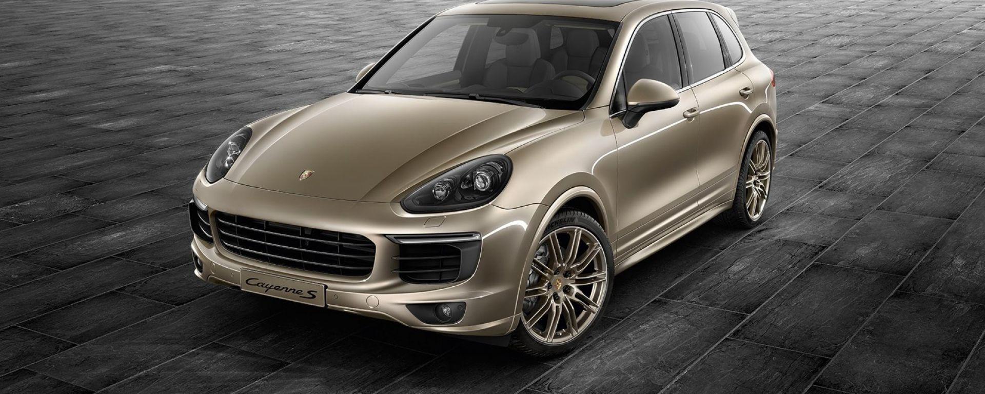 Porsche Cayenne S Palladium Metallic