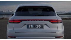 Porsche Cayenne Turbo 2018: 550 cv e aerodinamica attiva - Immagine: 7