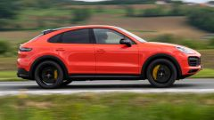Porsche Cayenne Turbo Coupé, la fiancata