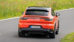 Porsche Cayenne Turbo Coupé, posteriore