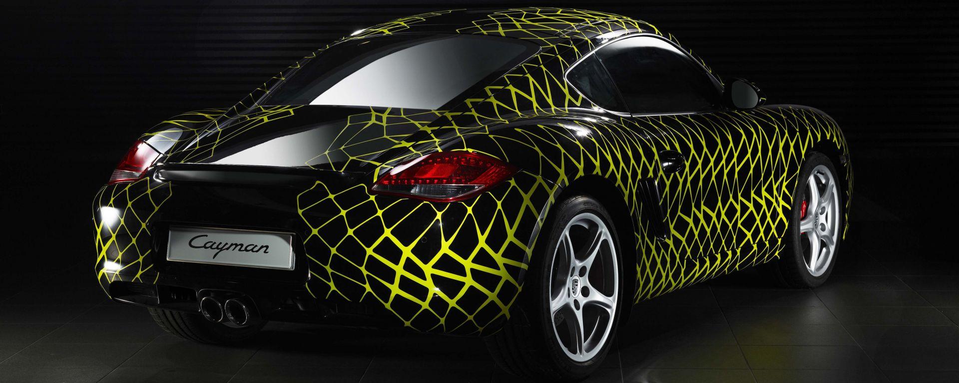 Porsche Cayman Art Car