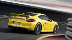 Porsche Cayman GT4 2018 avrà 6 cilindri aspirato e manuale - Immagine: 3