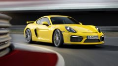 Porsche Cayman GT4 2018 avrà 6 cilindri aspirato e manuale - Immagine: 1